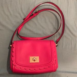 Authentic Kate Spade hot pink crossbody bag